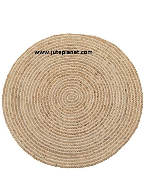 Round braided jute rugs